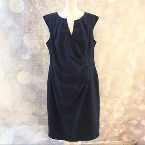 ADRIANNA PAPELL • navy dress size 18W